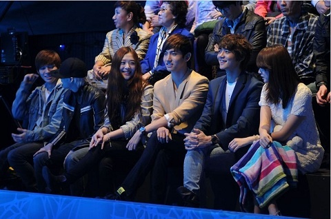 Why Did f(x)'s Sulli and Amber, SHINee's Min Ho, DBSK's Changmin, and Yoo In Na Gather?
