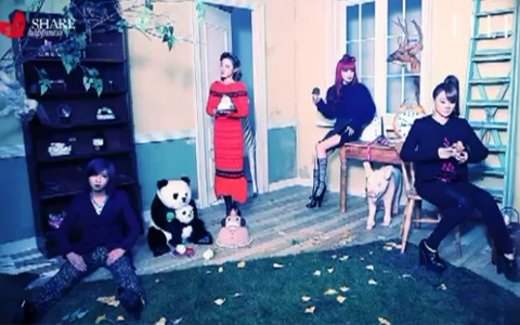 """YG's Ladies Show Off BTS Video for Elle's """"Share Happiness"""" Pictorial"""