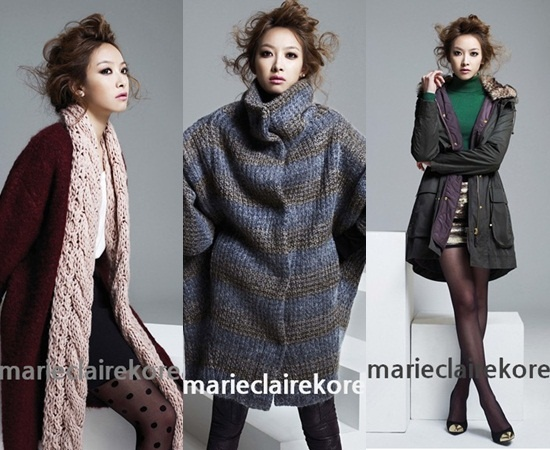 f(x)'s Victoria Shows Off Her Feminine Beauty in Marie Claire's Autumn Apparel Photoshoot