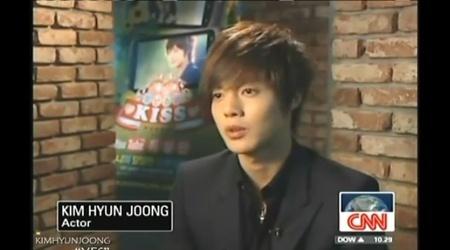 Kim Hyun Joong On CNN's i-List – South Korea