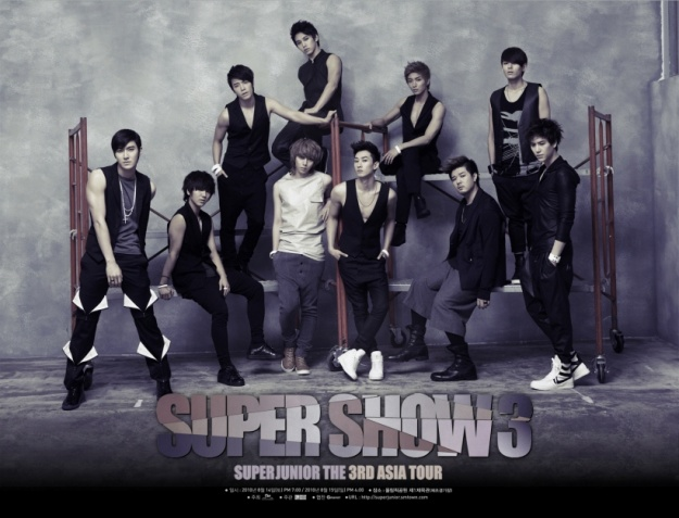 "Super Junior to Release ""Super Show 3"" Live Concert Album"