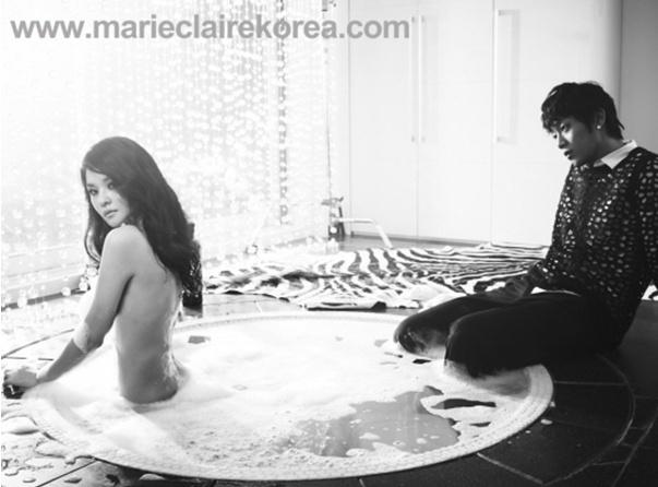Woori Explains Truth Behind Nude Photo Shoot with BEAST Yoon Doo Joon
