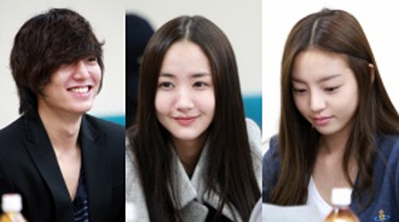 "At the Script Reading for SBS's New Drama ""City Hunter"""