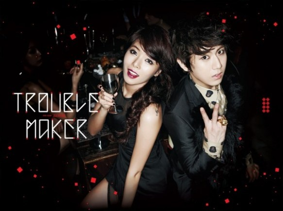 """HyunA and Hyun Seung Reveal Full MV for """"Trouble Maker"""""""
