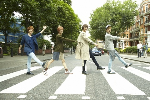 Japanese Media Praise SHINee as the Beatles of Asia