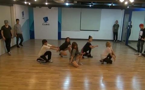 Hyuna's Dance Practice Video for Bubble Pop