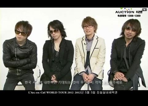 Legendary Japanese Rock Band L'Arc-en-Ciel is a Fan of Girls' Generation