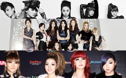 2NE1, SNSD, and Wonder Girls at Forefront of U.S. K-Pop Invasion