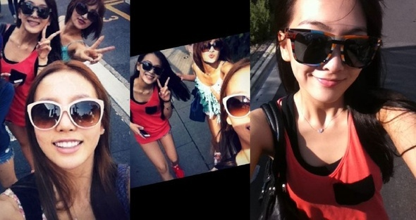 KARA's Kang Ji Young, Nicole, Goo Hara Having a Blast Together!