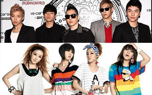 Big Bang and 2NE1 Hit Second and Fourth Place on Oricon Chart