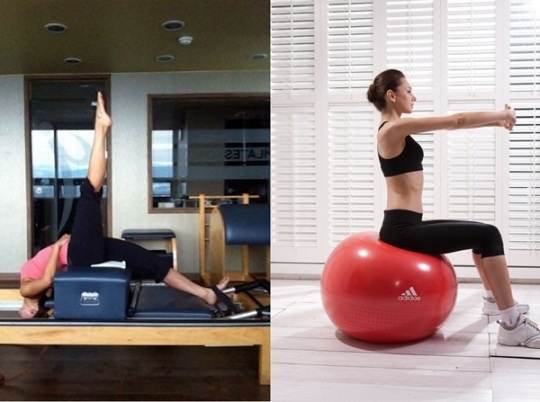 KARA's Nicole Makes Waves in the Advertising Industry With Her Pilates Picture