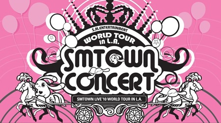 Announcing the SMTOWN LIVE 2010 WORLD TOUR in Los Angeles