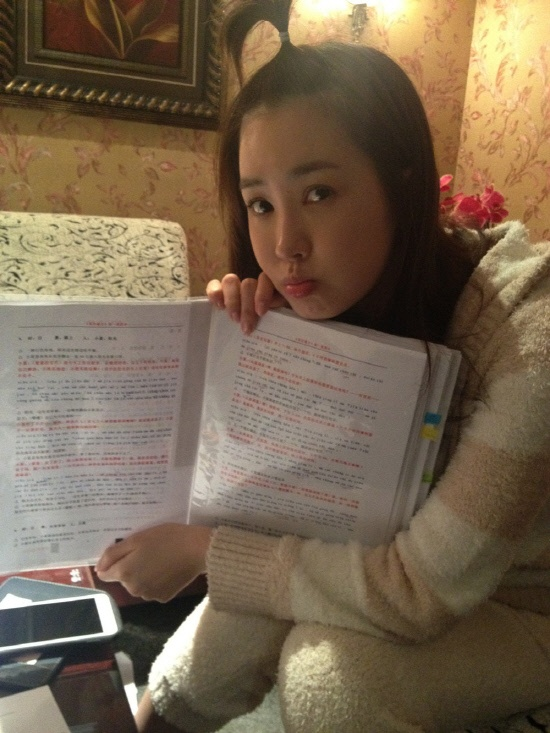 Lee Dae Hae- First Korean Actress to Speak Chinese in a Chinese Drama