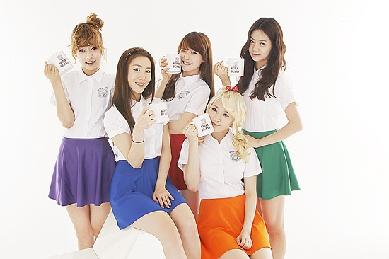 Girl's Day to Hold Fortune Cookie Event with Coffee Brand Kona Beans