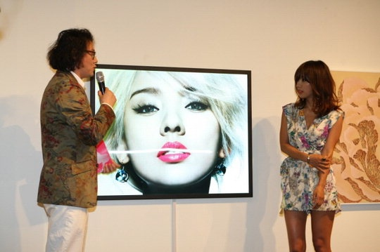 Singer Lee Hyori, Pop Art Muse