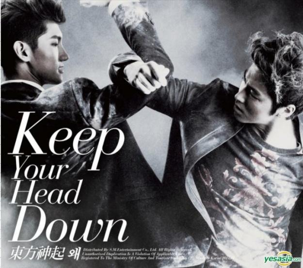 Album Review – TVXQ – Vol. 5 Keep Your Head Down