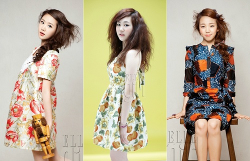 """K-Pop Star"" Girls Go for New Look in Elle Girl Photo Spread"