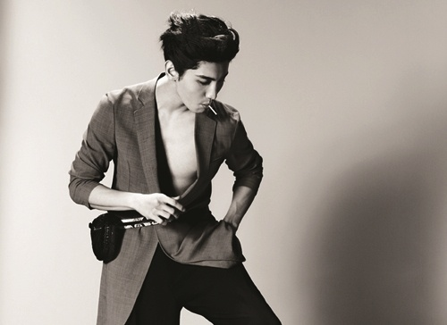 "DBSK's Changmin Is the New ""Man of Armani"""