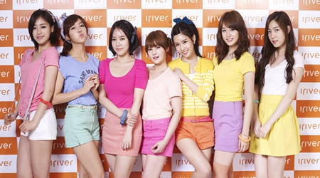 T-ara Becomes the New Face of iRiver