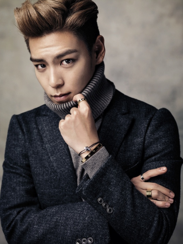 """T.O.P. """"Rings the Golden Bell"""" for His Fellow Schoolmates"""