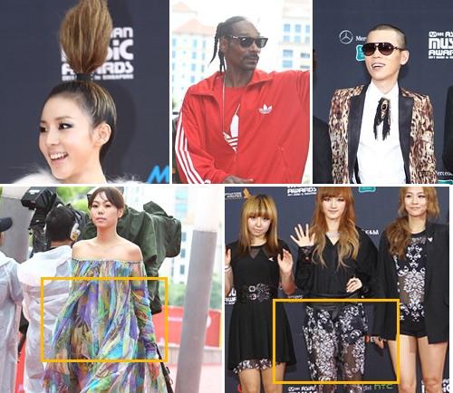 A Look at 2011 MAMA Red Carpet Fashion