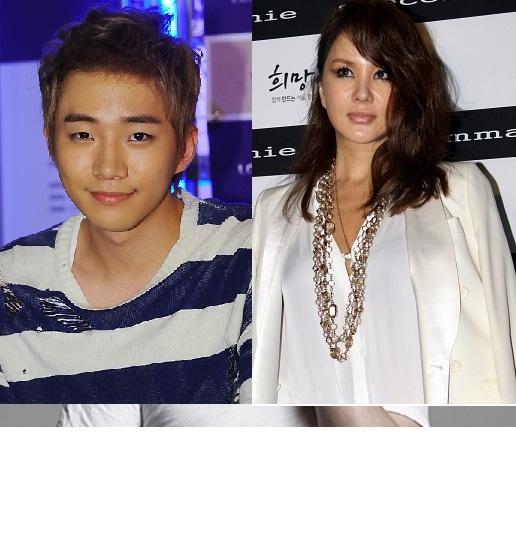 2PM Junho Misses Uhm Jung Hwa