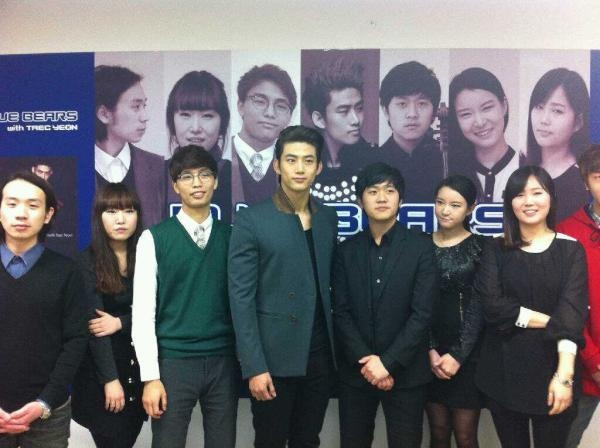 """2PM's Taecyeon Releases New MV """"Wing"""" with Blue Bears"""