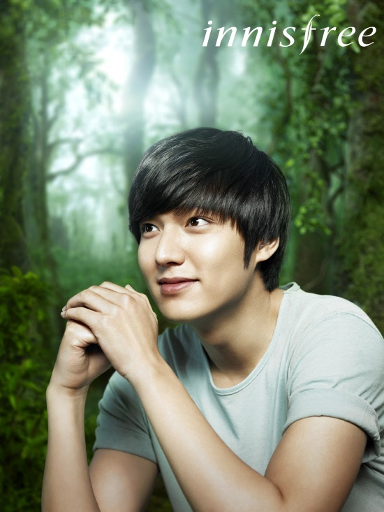 Lee Min Ho Shows off His Smile and Shining Skin for innisfree