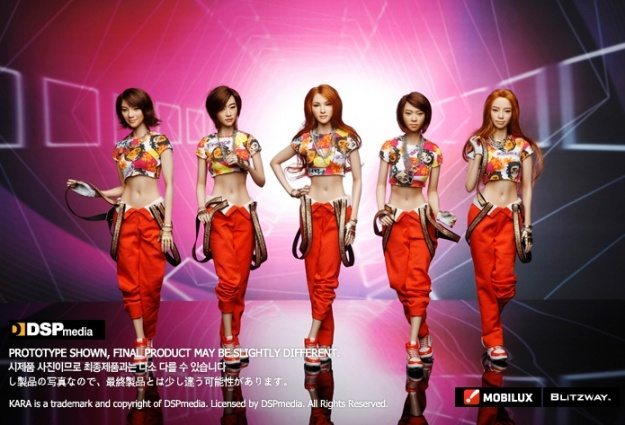 Kara Begins Pre Sale Orders of Their Figurines!