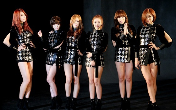Dal Shabet 1 Year Anniversary and BTS Pictures of Music Video Set