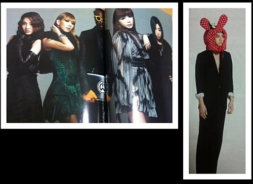 2NE1's Dara Takes Photoshoot with Will.I.Am + Reveals MBLAQ's Thunder in Bunny Ears