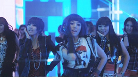 4Minute Sets New Dance Trend