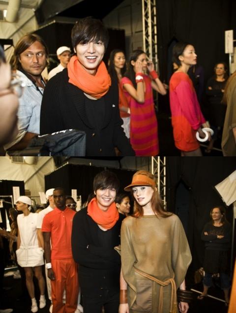 Lee Min-Ho Attends New York Fashion Week