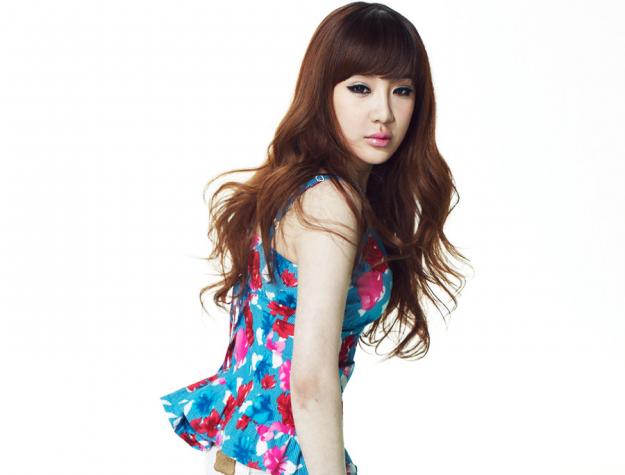 Park Bom Shows Off Her Perfect Backline