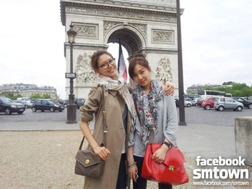"""""""Bonjour!"""" SNSD's Soo Young & Tiffany's Parisienne Look in Paris"""