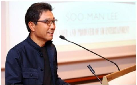 Lee Soo Man Surpasses 100 Billion Won ($100 million USD) in SME Stocks