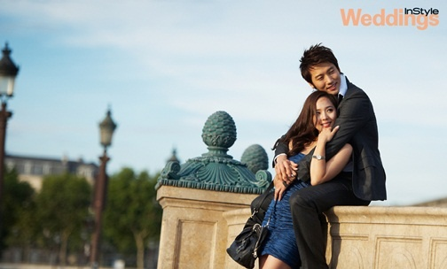 Eugene and Ki Tae Young's Romantic Honeymoon Kiss in Paris