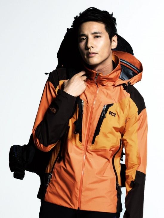 Won Bin as K2's Outdoor Model