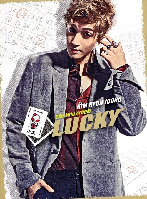 """Kim Hyun Joong Releases """"Lucky"""" Music Video Teaser"""