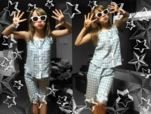 Rainbow's Ji Sook Fits in PJs for a 9 Year Old