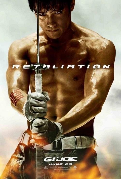 "Lee Byung Hun's ""G.I. Joe: Retaliation"" Poster Unleashed"