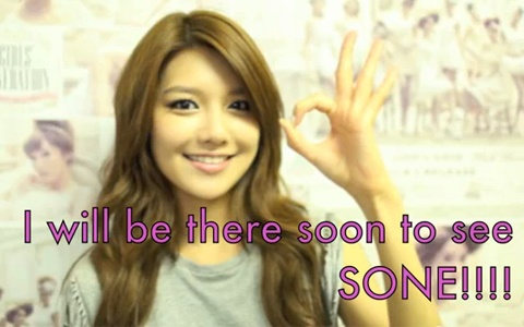 SNSD's Sooyoung Creates Video Message Thanking SONEs