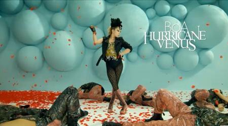 "3D Version Of BoA's ""Hurricane Venus"" Released"