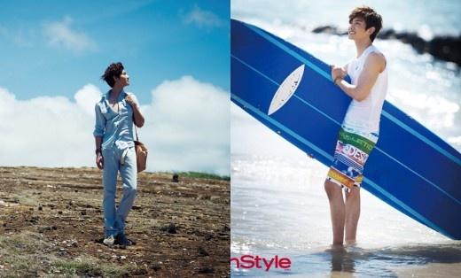 TVXQ's Chang Min's Sizzling and Suave Photoshoot in Hawaii