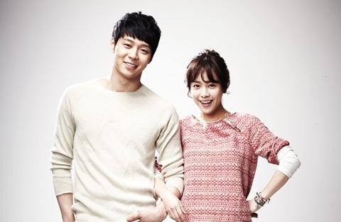 "JYJ Park Yoo Chun and Han Ji Min's Couple Photoshoot for ""Rooftop Prince"""