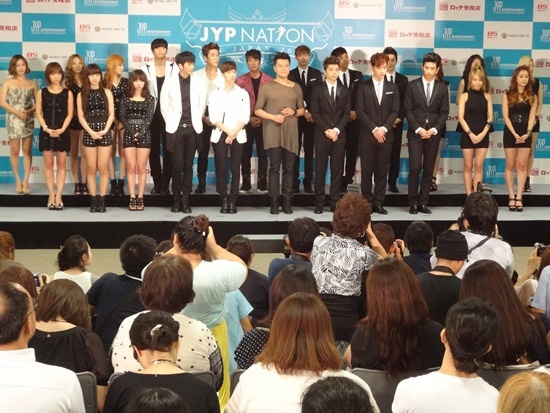 Oricon Includes 2PM and JYP Nation's Concerts as the Best of 2011
