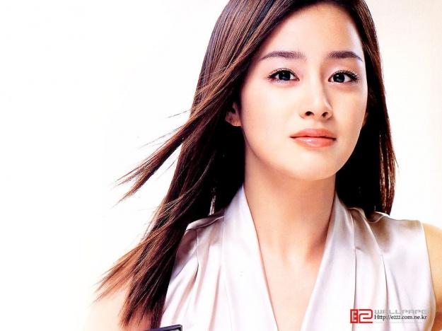 Kim Tae Hee: the Next Straight Hair Goddess