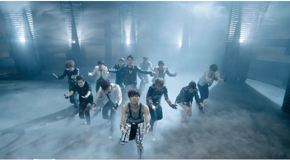 EXO-K Makes Their Debut Performance on Inkigayo