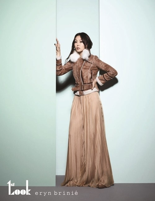 Kim Min Hee Shows Off Her Sophisticated Fashion in Photoshoot for 1st Look