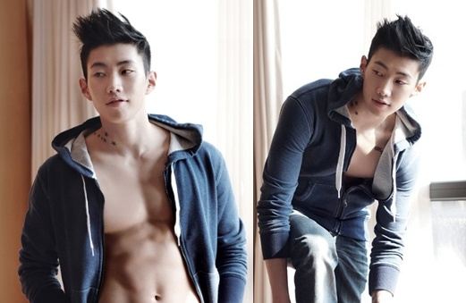"""Jay Park Shows Off """"Chocolate Abs"""" for dENIZEN"""